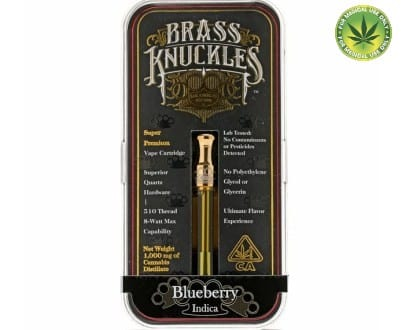 Brass knuckles Blueberry Cartridge For sale Online